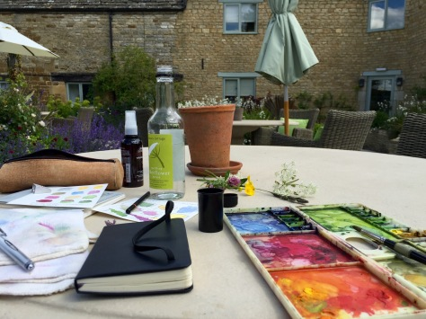 PaintingInCotswolds