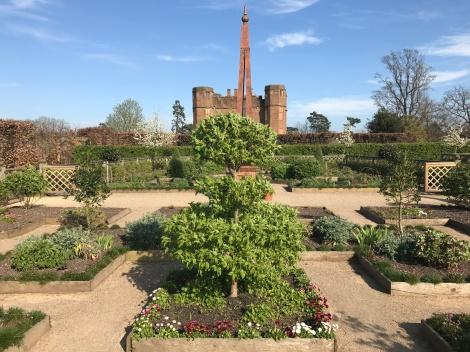 Kenilworth Gardens, designed for Queen Elizabeth I's visit in 1575