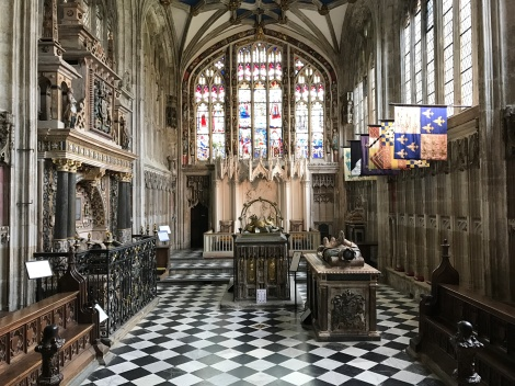 Beauchamp Chapel at St. Mary's Church in Warwick, England